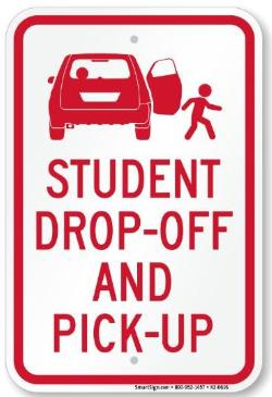 Image result for drop off and pick up